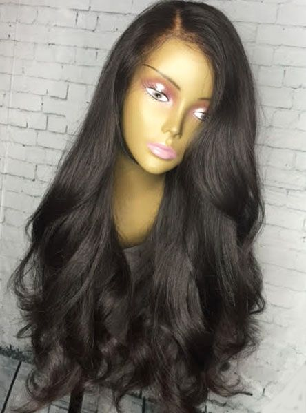 200% Density loose Weave Lace Front Human Hair Wig - touchedbytim006