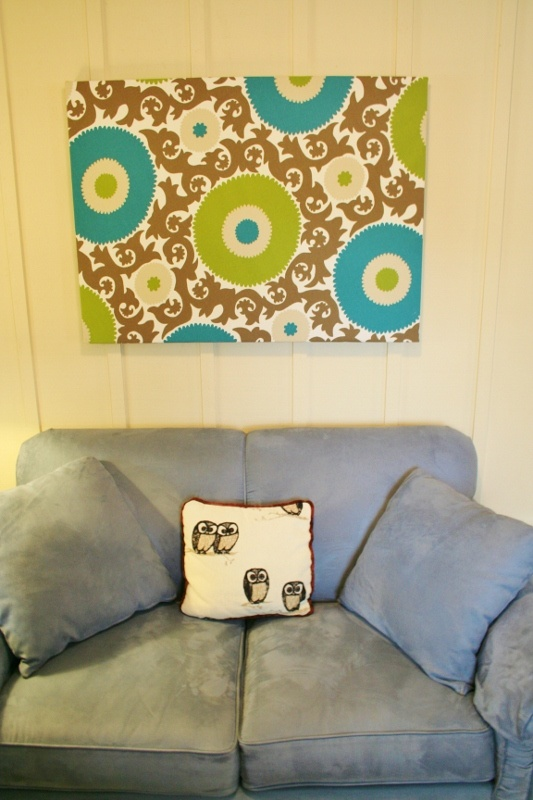 How to make fabric artwork. « Rappsody in Rooms