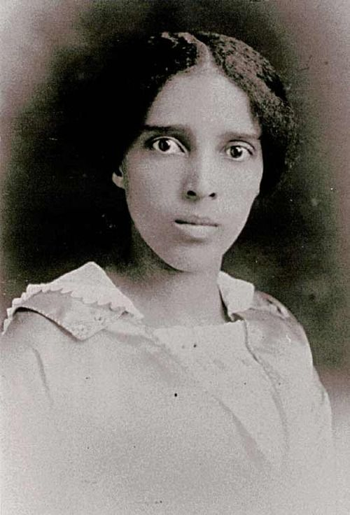 Bazoline Estelle Usher (December 26, 1885 - February 8, 1992). She was a teacher, principal (which was a pretty big deal for a woman at the time, especially an African-American woman) and she became the Supervisor of Education for Minority Pupils in Atlanta, Georgia. She also led the group of about 25 women who created the first African-American Girl Scout troops in Atlanta.