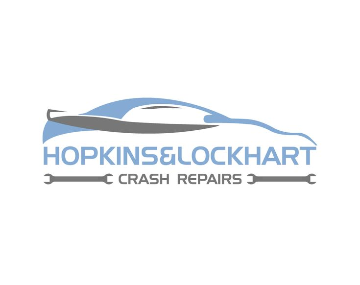 Logo for Crash Repair Garage That Fixes Dents a... Masculine, Conservative Logo Design by Black Tiger