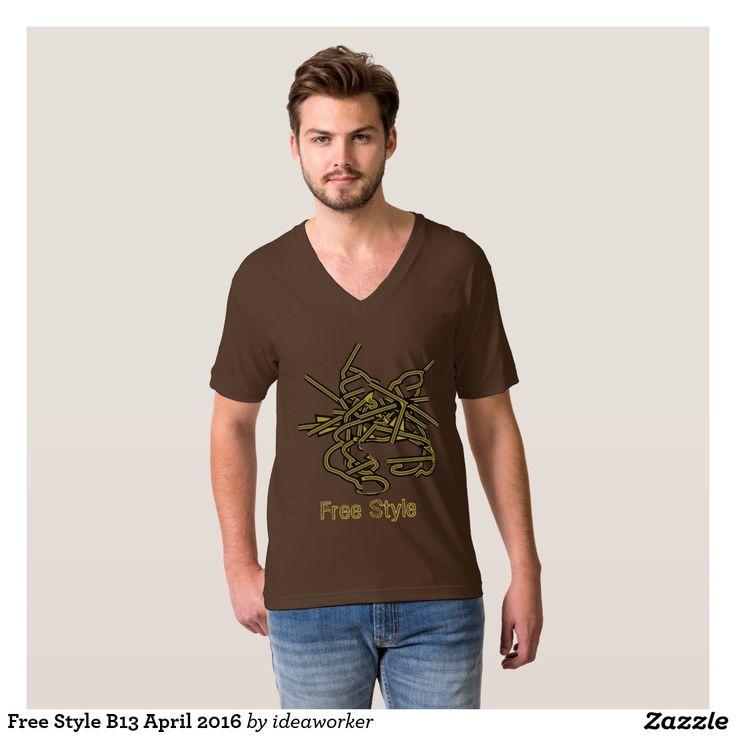 Free Style B13 April 2016 T-Shirt