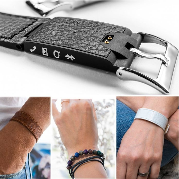 Kisai Link Bluetooth Notification Bracelet - $79 Reminds Yourself to Meditate