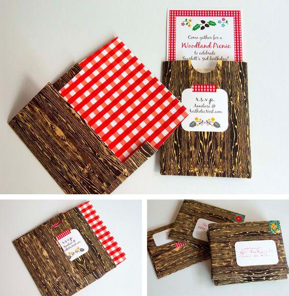 woodgrain envelope