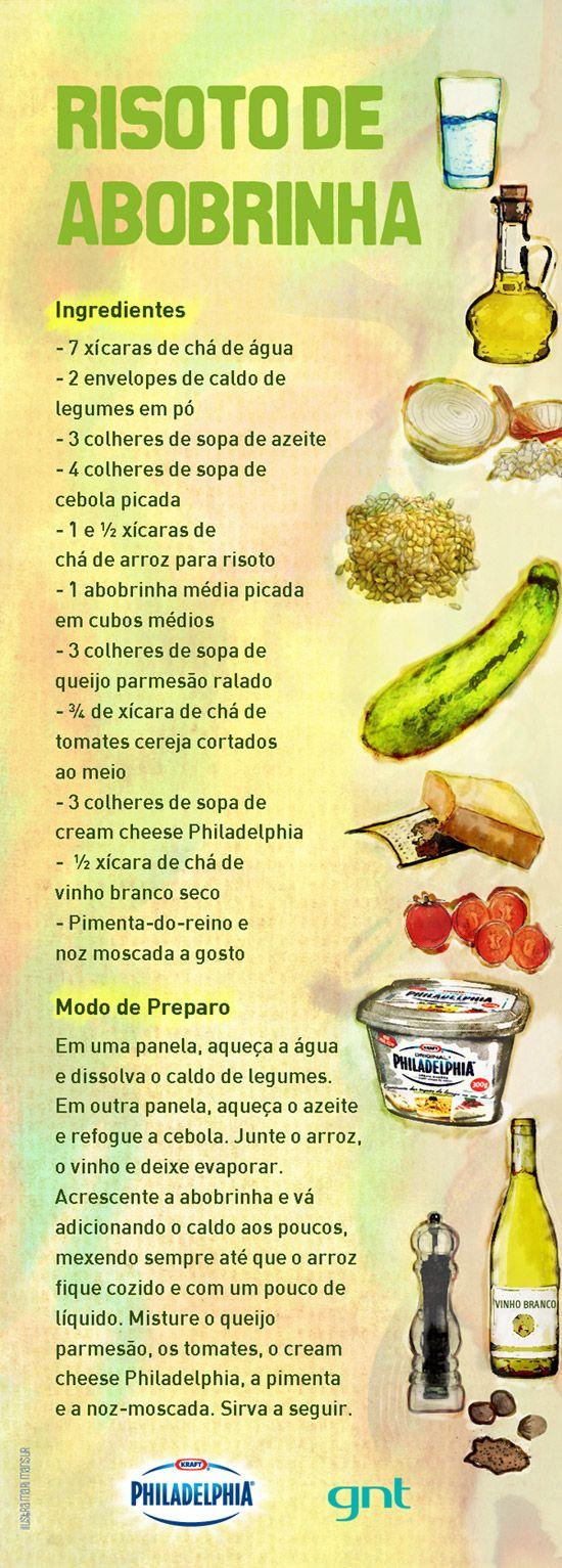Risoto de abobrinha... Quer Aprender A Queimar Gordura De Verdade? Então Acesse: http://www.SegredoDefinicaoMuscular.com Eu Garanto... #Risoto