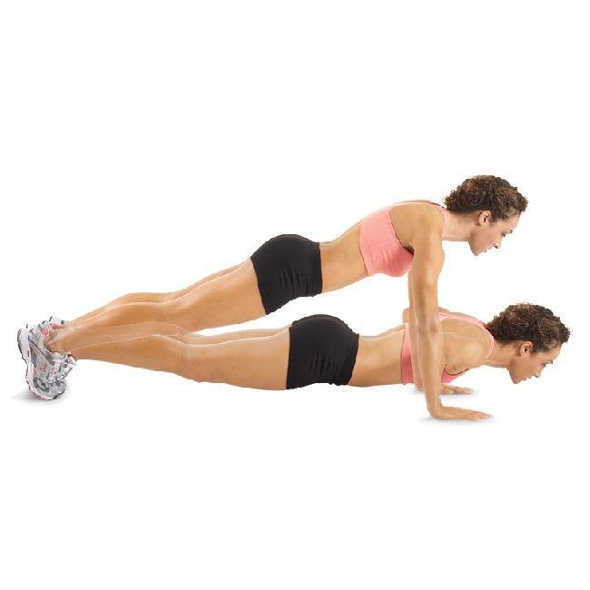Bu 6 hareket sayesinde, sadece 10 dakikanı ayırarak göğüslerini çalıştırabilir, doğal ve dik göğüslere sahip olabilirsin. Hareketleri,her biri 3'er kez olacak şekilde yapmalısın. Ağırlık olarak ise 2-4 kg arasını tercih etmelisin. Setler arasında aralar vermeyi unutma.    1- Lying Chest Fly Yere sırt üstü uzanıp dizlerini birleştirerek yukarı kaldır. Bacaklarını yere paralel olacak…