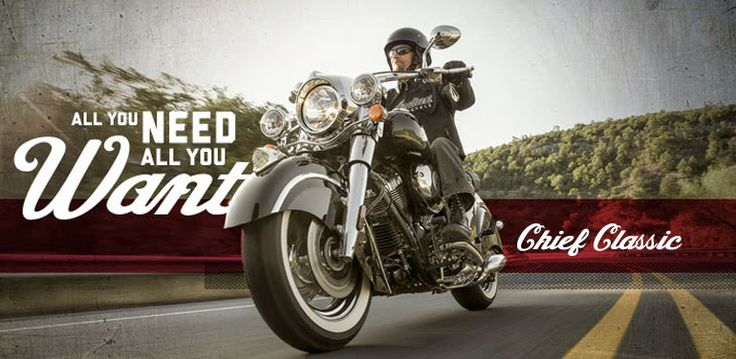 Indian Motorcycles 2014 Chief Classic - Motor Fuel