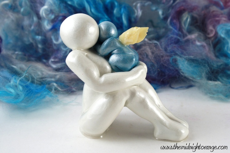 Angel Sculpture Child Loss Mother and by TheMidnightOrange, $38.00