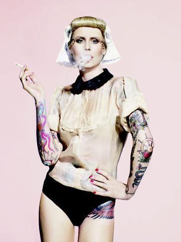 Dutch Tattoo Artist Angelique Houtkamp | Dutch Tattoo Artist Angelique Houtkamp | thetelegraph.com.au