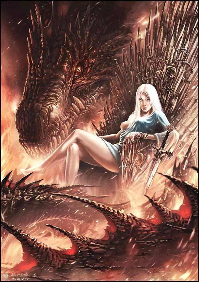 Daenerys Targaryen!!! #got #agot #asoiaf