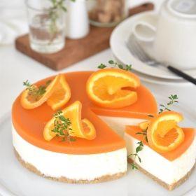 アプリコットレアチーズケーキ