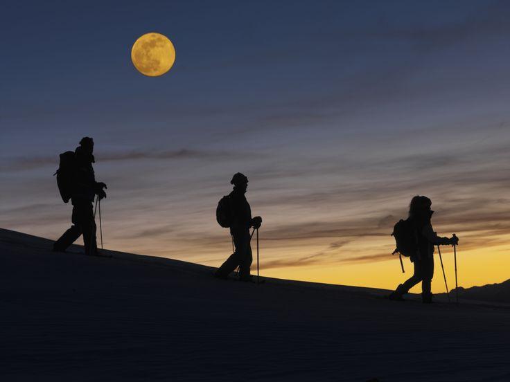 VAL DI FIEMME-TRENTINO: Tu, io, la luna e la neve