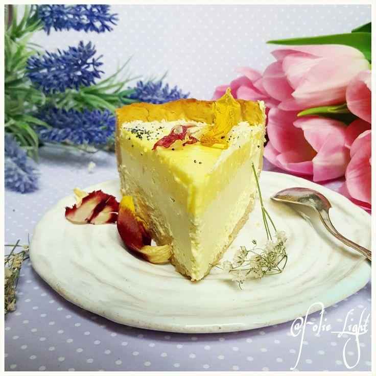 Lemon cheesecake,  лимонный чизкейк, Fitnesscake, low calorie cake, protein cake, low carb, диетический торт, низкокалорийный торт, cake design @Folie_Light