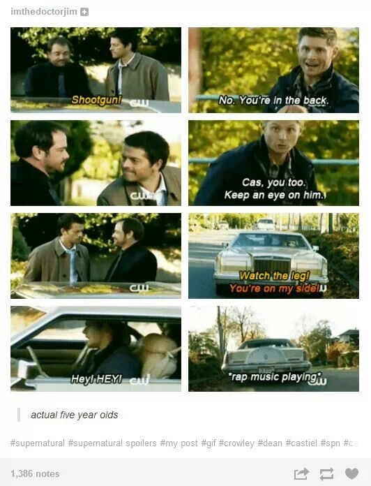 """Actual five-year olds."" 