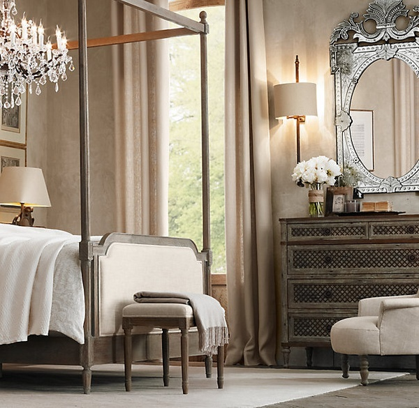 restoration hardware bedroom beautiful home pinterest. Black Bedroom Furniture Sets. Home Design Ideas