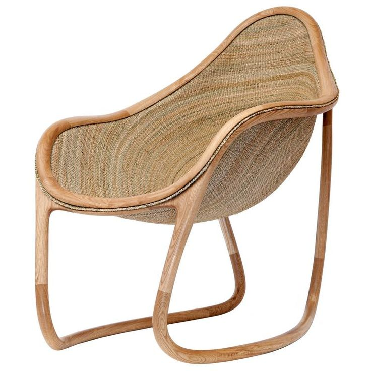 Rush Chair, Christopher Jenner, 2016 | From a unique collection of antique and modern armchairs at https://www.1stdibs.com/furniture/seating/armchairs/