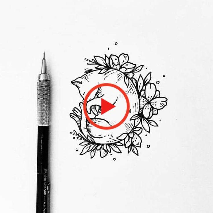 Illustrator draait haar mooie lijn tekeningen in charming