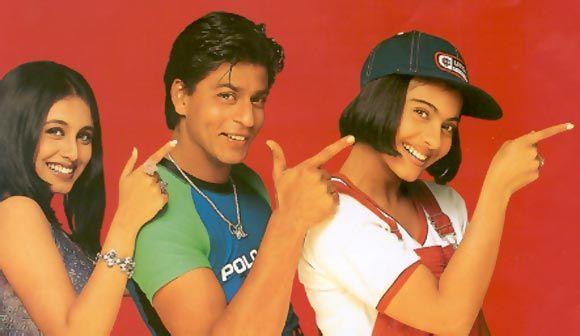 Shahrukh Khan, Kajol and Rani Mukherji - Kuch Kuch Hota ...
