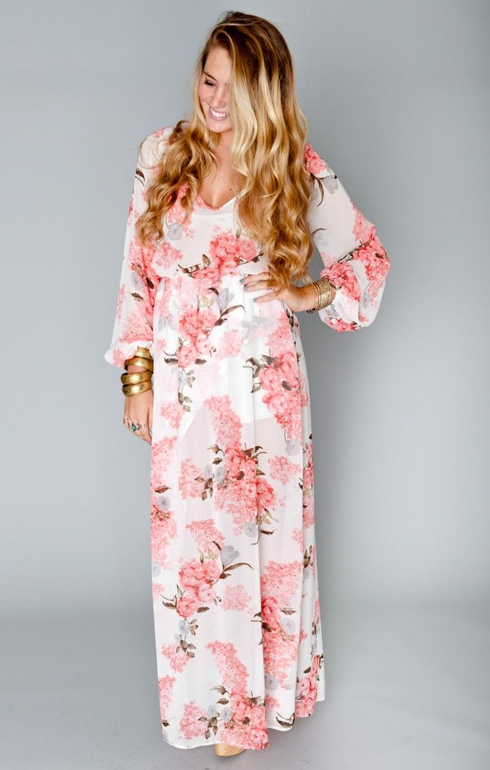 Jocelyn Maxi Dress Blossom Blush Show Me Your Mumu