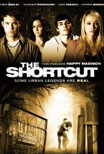 The Shortcut (2009), Happy Madison Productions, Minds Eye Entertainment with Shannon Woodward (Sabrina from Raising Hope), Kent Allen, Wendy Anderson, and Raymond J. Barry.  Not bad and a fun little plot.