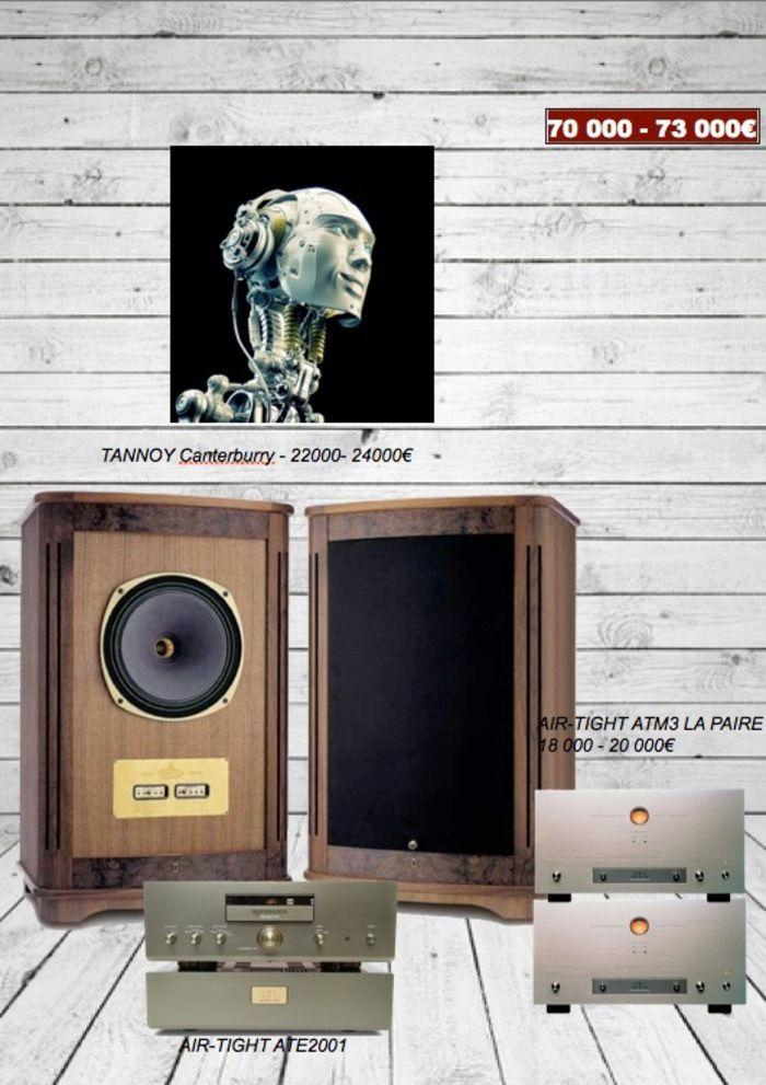 duo hifi ampli audio de puissance a tubes air tight atm3. Black Bedroom Furniture Sets. Home Design Ideas