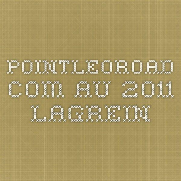 pointleoroad.com.au  2011 Lagrein