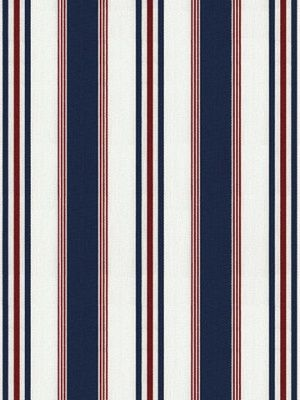 Ralph Lauren Fabric - Highrock Stripe - Red White Blue at DecoratorsBest #decor