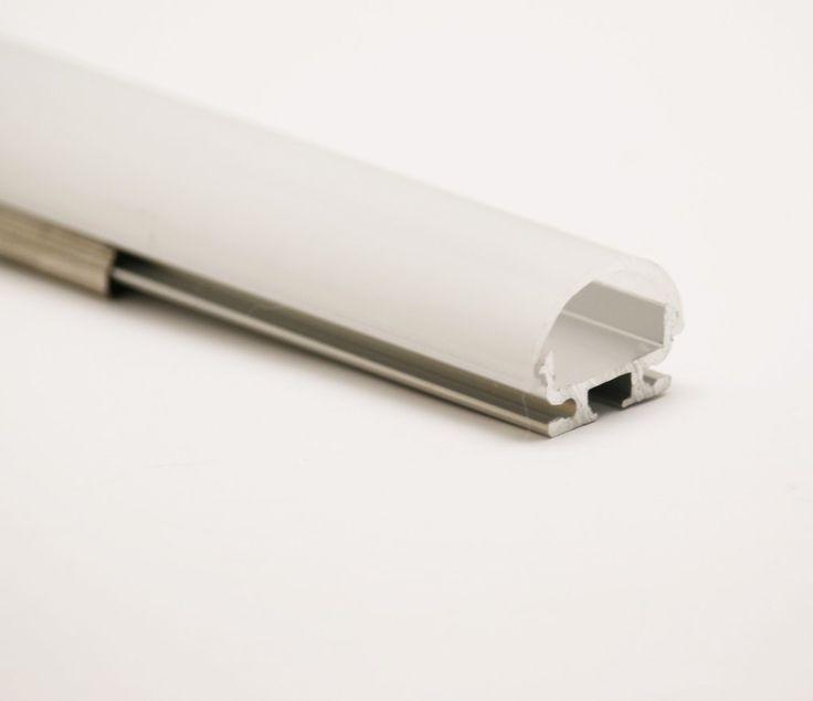 8Feet/ LED Channel for 12V LED Strip Light w/Arc-Shape Cover