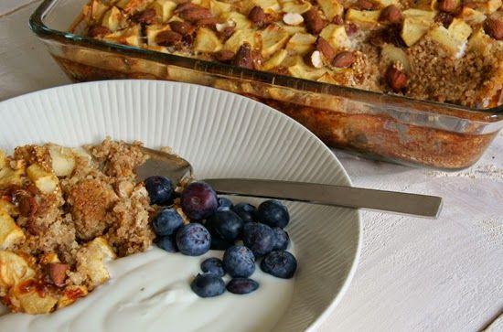 Al een tijdje wilde ik een ontbijtje met quinoa maken, maar het kwam er elke keer niet van. Je kunt het heel makkelijk net als havermout klaar maken (quinoa koken met melk in een pannetje), maar ik koos ervoor om het in de oven te doen samen met appel, rozijnen en amandelen. Je moet er …