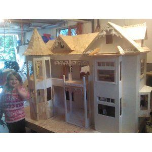 ... Plan to Build Your Own Victorian Barbie Doll House Project