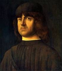 Alvise Vivarini, ritratto virile, 1495