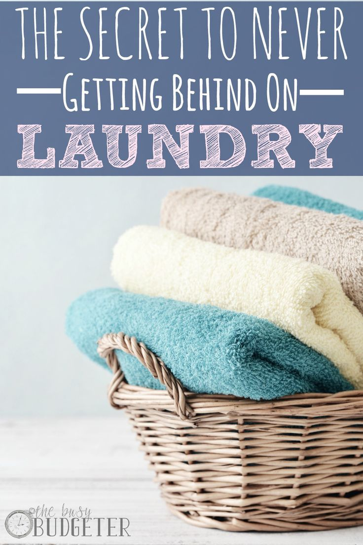 The simple secret to never getting behind on laundry again.  What the... I'm floored. I tried this thinking it was silly and I went from having a hallway full of dirty clothes to just the next days laundry basket. It seems backwards to me, but if it works, it works!