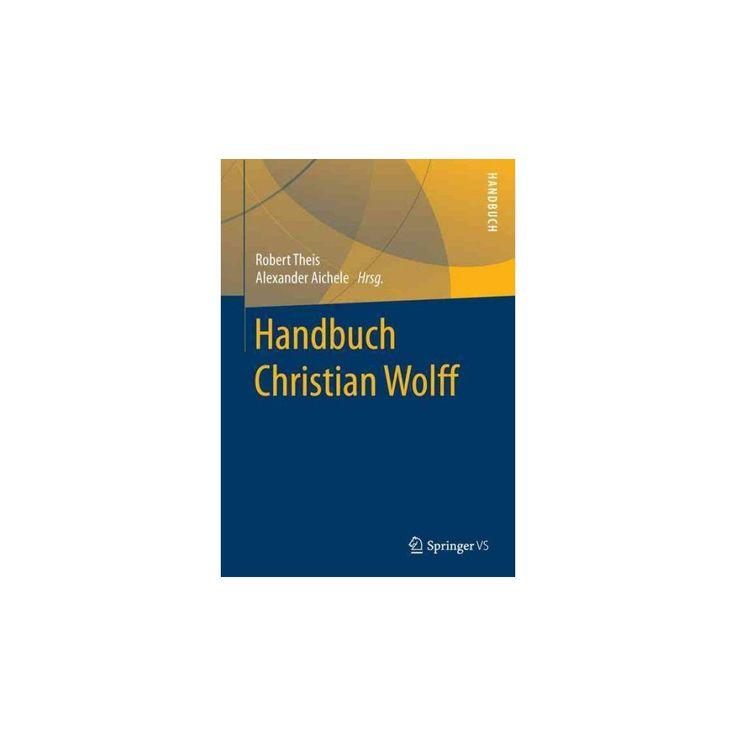 Handbuch Christian Wolff (Hardcover)