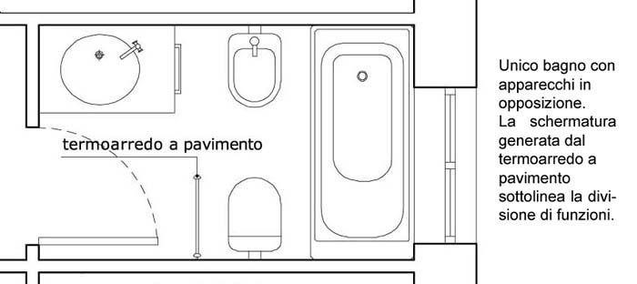 Oltre 25 fantastiche idee su bagni grigi su pinterest arredo bagno di servizio colori per - Planimetria bagno piccolo ...