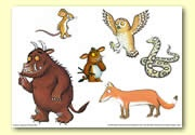 The Gruffalo's Child Book Resources - Storyboard / Cut & Stick