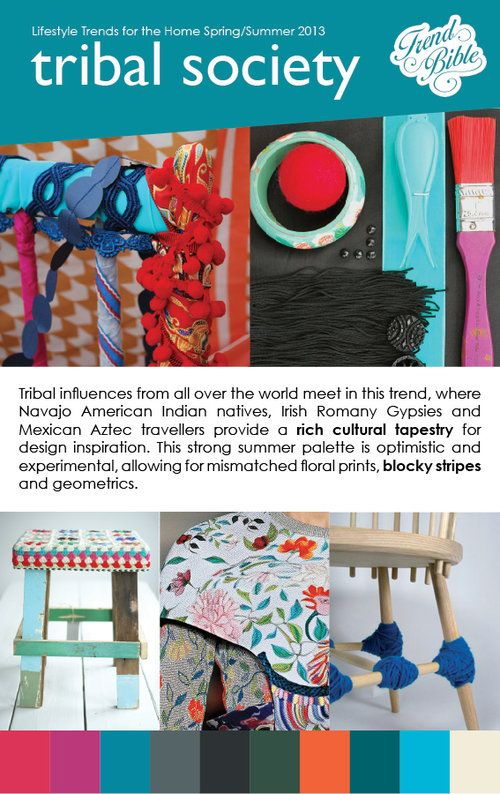 Trend bible 15-3-12 for summer 2013