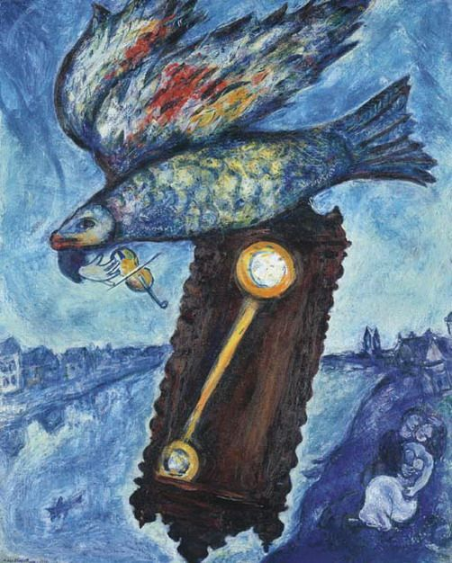 Time is a River Without Banks. ~ Marc Chagall