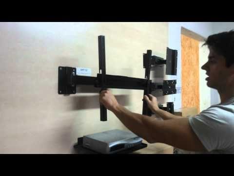 Suporte Tv Quadri-articulado Lcd Led Plasm 24 32 40 42 48 52 - R$ 99,90 em Mercado Livre