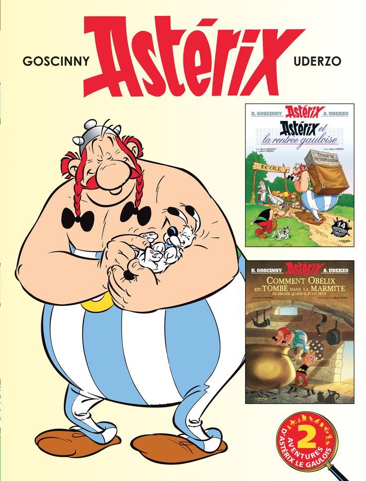 Astérix, vol. 17 : Astérix et la rentrée gauloise / Comment Obélix est tombé dans la marmite du druide - René Goscinny , Albert Uderzo - 96 pages,  Double album. Couverture cartonnée. 22,3 x 29,2 cm   - Série / Collection : Astérix -   Age : 7 ans et + -   Référence : 00422609 #Enfants #Adultes #Livre #Lecture #Cadeau #Vacances #BandesDessinees #BD