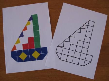 Foto Fien bewaart deze mozaïek voorbeelden graag in een van haar fotomappen met voorbeelden.