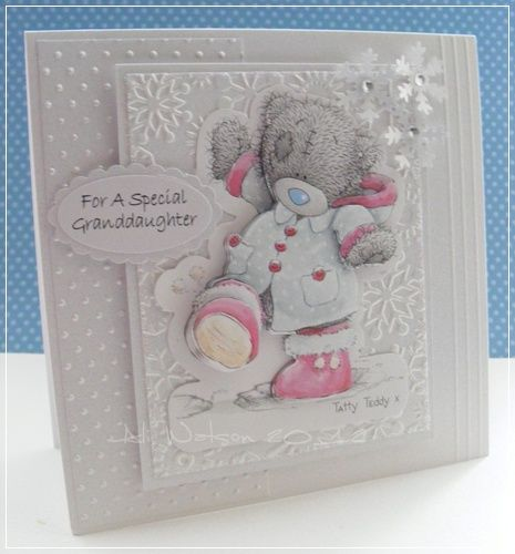Ali Watson Creations : White on White.....Me to You or Tatty Teddies?