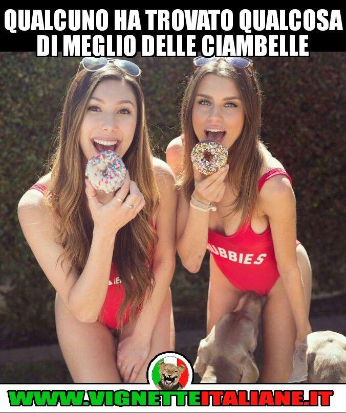 Qualcuno ha trovato qualcosa di meglio delle ciambelle :D (www.VignetteItaliane.it)
