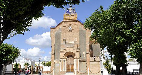 Benalup Casas Viejas - Church of Nuestra Señora del Socorro (10th Century) © Michelle Chaplow