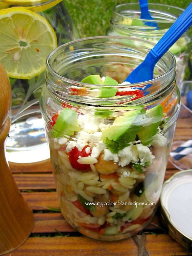 Picnic Orzo salad--yes! Ravinia is right around the corner...