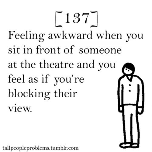 Dating tall girl awkward