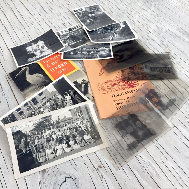 Vintage collection of negatives and black and white prints in an original Ilford and Horsham wallets. Collectable photography ephemera. by VintageCuriosityShop on Etsy