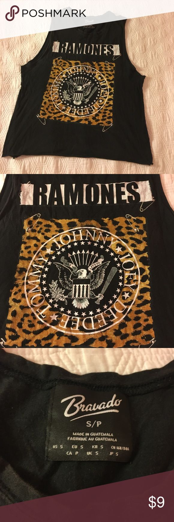 "3 for $15 Forever 31 Ramones Tank Part of 3 for $15 deal. Add three listings that say ""3 for $15 deal"" to a bundle, offer $15 and I will accept. Only shirts that say 3 for $15 Forever 21 Tops Muscle Tees"