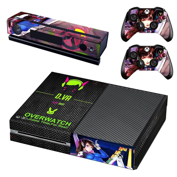 overwatch skin decal for xbox one console and controllers