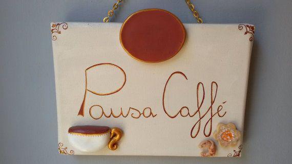 Quadretto per pausa caffè