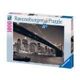 Ravensburger 15835 - Manhattan mit Brooklyn Bridge - 1000 Teile Puzzle