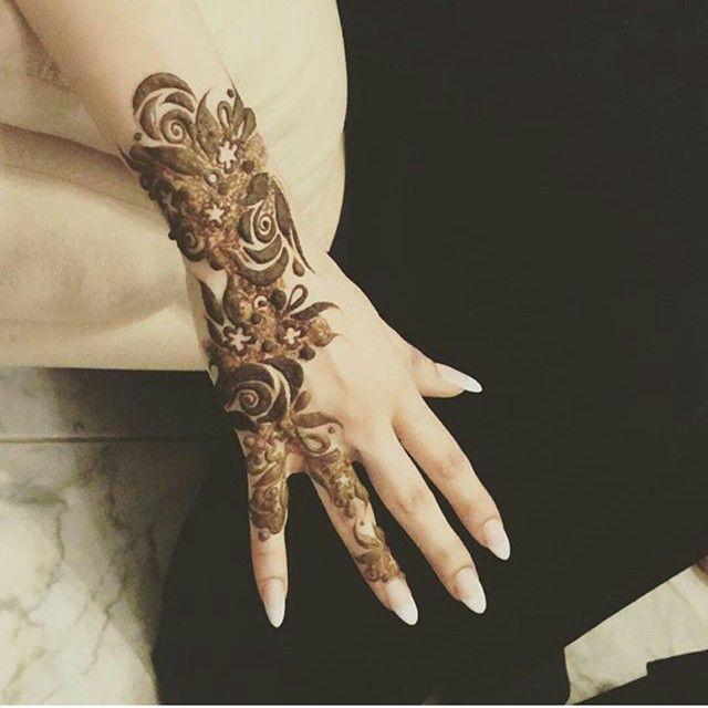 Black Henna Tattoo Dubai: Henna, Latest Henna Designs, Rose Mehndi Designs